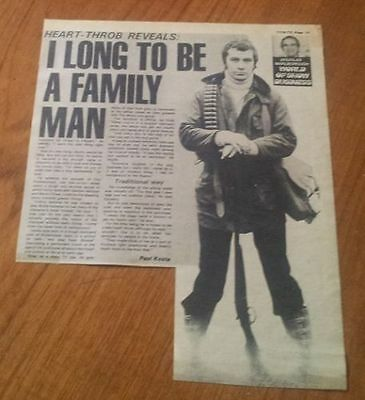 Lewis Collins Bodie The Professionals Longs to be a Family Man Article/Interview