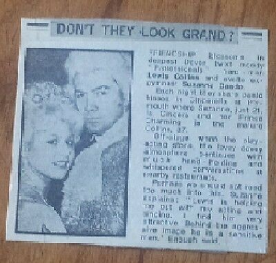 Lewis Collins Bodie The Professionals in Panto with Suzanne Dando Article 1983