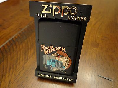 Road Winder Cobra Semi Trucker  Zippo Lighter Mint In Box 1991