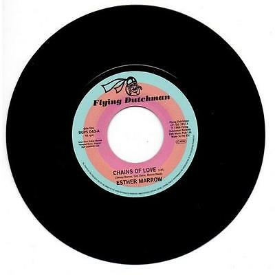 ESTHER MARROW Chains Of Love / Walk Tall NEW JAZZ FUNK 45 (BGP) SOUL