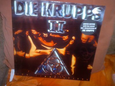 Die Krupps II 'The Final Option' LE Coloured  2LP (1993) Rough Trade Records.