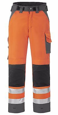 Snickers 3639 High Visibility Winter Mens Trousers Class 2 Orange SnickersDi Pre