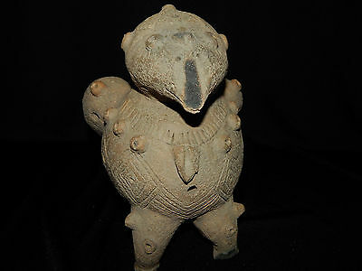 Pre-Columbian Bird Effigy, Very Large, Rare, Central America, Costa Rica