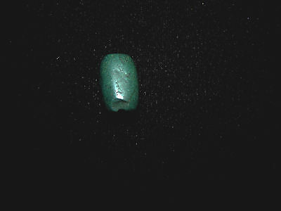 Pre-Columbian Blue Jade Pendant Bead, Authentic, Costa Rica