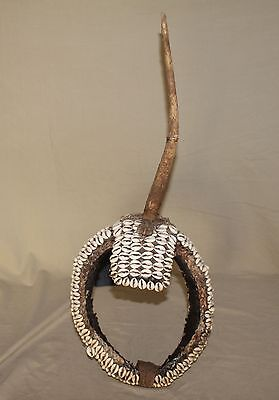 Antique african  Headgear from the Karamojong people of Uganda