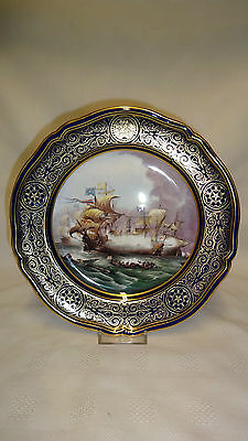 Limited Edition Spode Armada Series Collector Plate No5 Attack Of The Vanguard