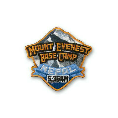 Mount Everest Base Camp Nepal Patch Embroidered Badge Mountain Climbing Souvenir