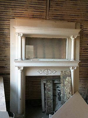 Antique Fireplace Mantle, Qty 1