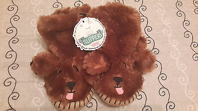 Hatley Bear slippers, New, size Small (approx 2 years)