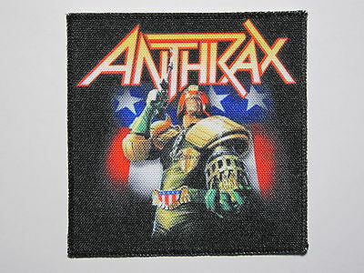 ANTHRAX printed NEW patch thrash metal