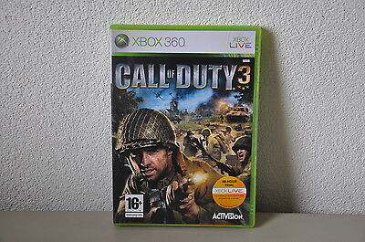 Call of Duty 3 | Microsoft Xbox 360 | Complete | PAL