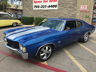 1972 Chevrolet Malibu SS Tribute  1972 Chevrolet Malibu SS Tribute Car - Top of the line Performance - Air !