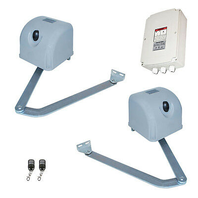 ALEKO Articulated Swing Gate Opener For Dual Swing Gates Up To 12-feet Long 700