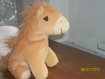 Precious Moments Tender Tails Plush Horse Pony Bean Bag