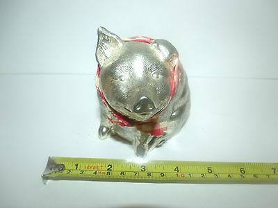 Vintage Piggy Bank Reed & Barton Silver Plated Made in Japan