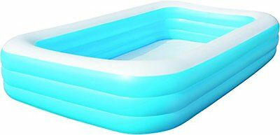 Splash and Play Deluxe Inflatable Family Swim Center Pool