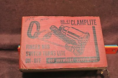 Vintage New Old Stock Acme Clamp Light