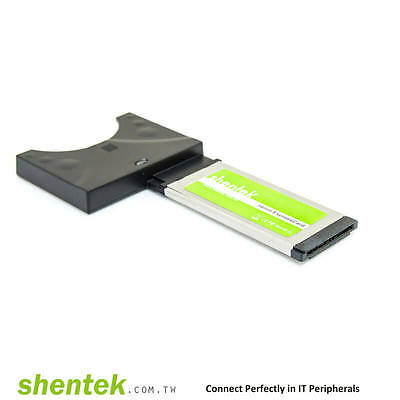 ExpressCard Laptop NEW Adapter to CardBus 32bit shentek 33005 PCMCIA converter