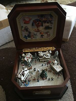 Rudolph the Red Nosed Reindeer Music Box + Certificate