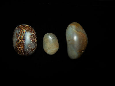 Pre-Columbian Jade Shaman Healing Stone Collection, Authentic, Central America