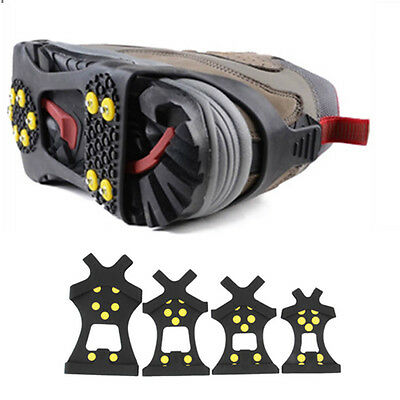 Cleats Over Shoes Studded Snow Grips Ice Grips Anti Slip Snow Shoes Crampons EF