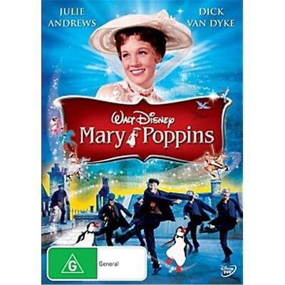 MARY POPPINS-Julie Andrews, Dick Van Dyke-Region 4-New AND Sealed