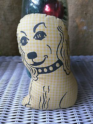 Vintage 30s-50s Dog Pillow Doggy Puppy 1930s 1950s
