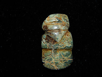 Pre-Columbian Avian Pendant, Very Rare, Authentic,Central America