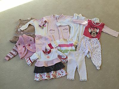 Pre-loved Baby Girl's Winter Bundle, Size 00, 11 Items In Excellent Condition!
