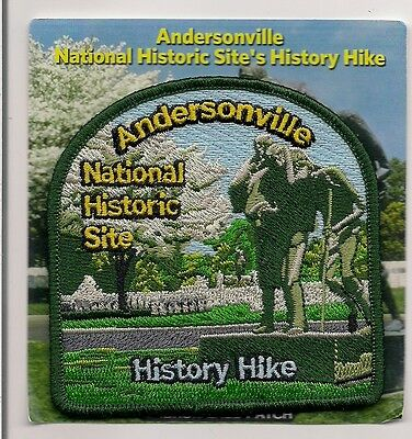 Andersonville National Historic Site, Georgia Souvenir Patch - History Hike