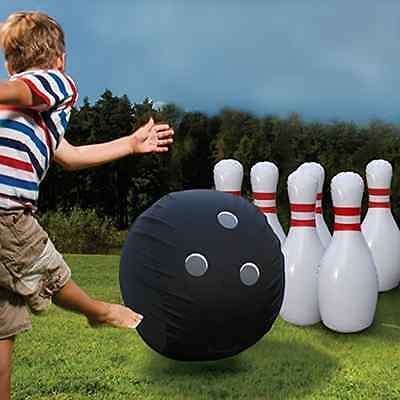 Etna Giant Inflatable Bowling Set Outdoor Toys Structures Game Enjoyable Quality