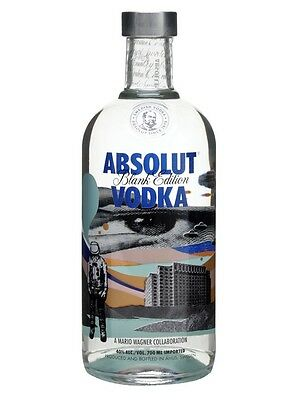 Absolut Vodka Blank Edition Mario Wagner 700ml