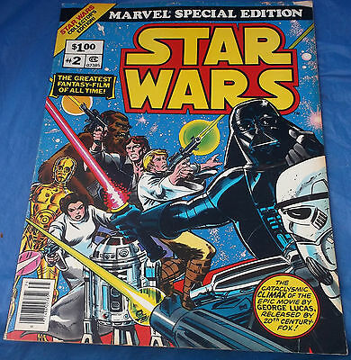 Marvel Special Edition #2 Star Wars Collector's 1977 Oversized Giant Comic Book