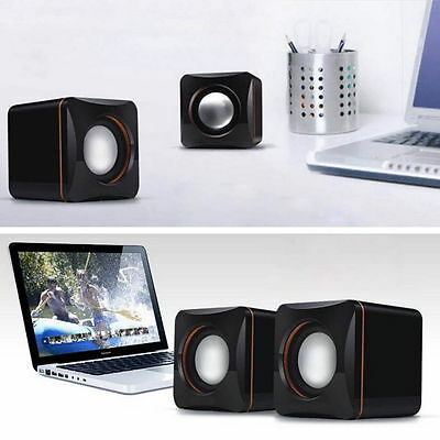 Mini Portable USB Audio Music Player Speaker for iPhone iPad MP3 Laptop SM