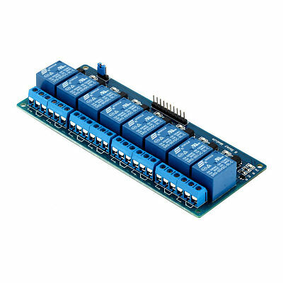 5V Eight 8 Channel Relay Module With Optocoupler For Arduino PIC AVR DSP ARM ZJ