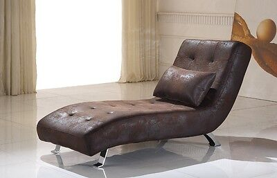 Microfaser Relax Liege Recamiere Relaxliege Chaiselongue 516-M-VF03 sofort