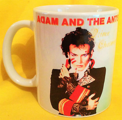 Adam & The Ants Prince Charming 1981- Album Cover- On A Mug -Changeling 1982
