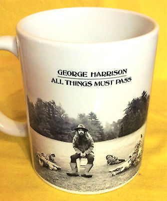 George Harrison All Things Must Pass 1970-Album Cover- On A Mug