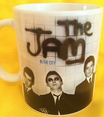 The Jam In The City 1977-Album Cover- On A Mug