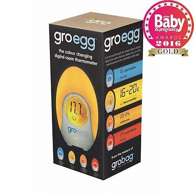 Gro Company - Gro-Egg Colour Digital Baby Room Night Light Thermometer UK MODEL