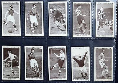 CHURCHMANS Cigarette Cards - ASSOCIATION FOOTBALLERS (2nd Series) - 1939 - EXC