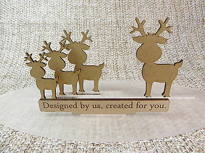 Wooden MDF Christmas  craft shapes, Xmas blanks,embellishments 30mm-120mm