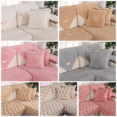 Yes Living Room Sofa Portector Slipcovers Corner Lounge Couch Towel Covers Y2R3