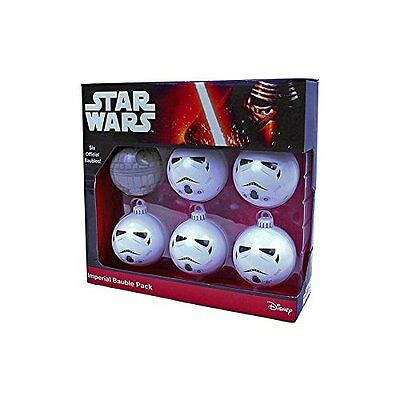 Star Wars Christmas Bauble Set - Imperial Pack - 6 Baubles