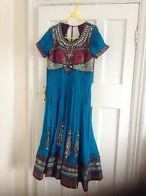 Pakistani Indian Party Anarkali Designer Dress