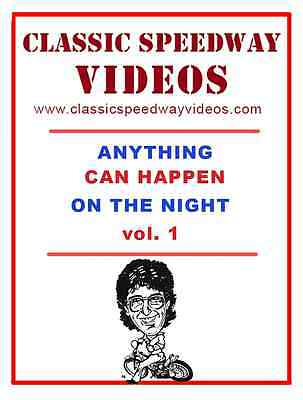 Anything Can Happen On The Night 1! Speedway Video On Dvd. Xmas Stocking Filler!