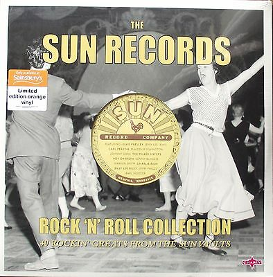 SUN RECORDS - Rock 'n' Roll Collection 2LP (2016) Orange Vinyl ELVIS PRESLEY