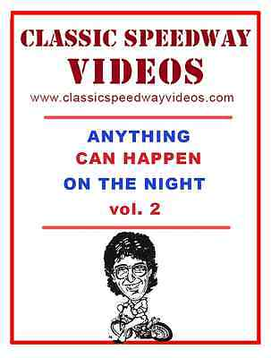 Anything Can Happen On The Night 2! Speedway Video On Dvd. Xmas Stocking Filler!