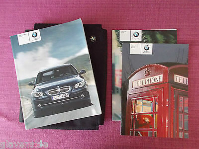 Bmw 5 Series E60 Saloon & E61 Touring  Owners Manual - Guide - Handbook (Bm 594)