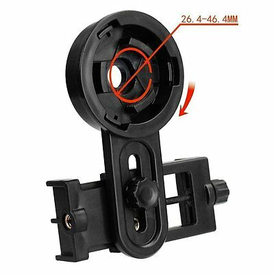 Universal Smart Phone Adapter Mount Binocular Monocular Spotting Scope Telescope